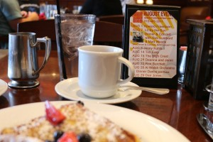 Delicacies for the ears as well as the mouth await visitors to the Hotel Pattee in Perry. New breakfast, lunch and dinner menus promise to give fall dining a new look and a new taste.