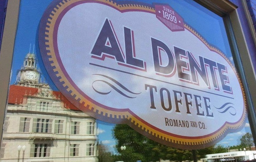 Al Dente Toffee brought southern light to the west side of the square.