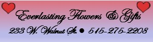 Everlasting Flowers and Gifts small sidebar