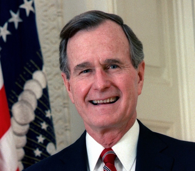 Vegas businessman, former adviser shares memories of George HW Bush